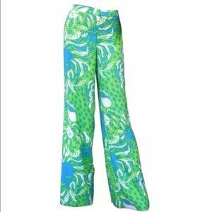 Women's Size 4 Lilly Pulitzer Wide Leg Pants